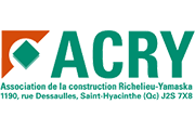 Association de la construction Richelieu-Yamaska ACRY